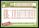 1985 Topps Traded #66 T Steve Kemp  Back Thumbnail