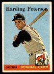 1958 Topps #322  Harding Peterson  Front Thumbnail
