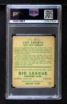 1933 Goudey #160  Lou Gehrig  Back Thumbnail