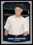 1989 Pacific Legends #199  Shag Crawford  Front Thumbnail