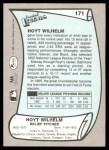 1989 Pacific Legends #171  Hoyt Wilhelm  Back Thumbnail