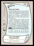 1989 Pacific Legends #143  Ken Keltner  Back Thumbnail