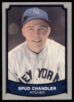 1989 Pacific Legends #136  Spud Chandler  Front Thumbnail