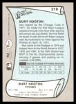 1989 Pacific Legends #219  Burt Hooton  Back Thumbnail