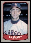 1989 Pacific Legends #130  Bo Belinsky  Front Thumbnail