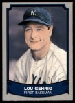 1989 Pacific Legends #174  Lou Gehrig  Front Thumbnail