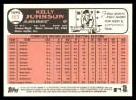 2015 Topps Heritage #625  Kelly Johnson  Back Thumbnail
