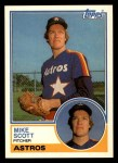 1983 Topps Traded #100 T Mike Scott  Front Thumbnail