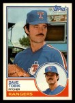 1983 Topps Traded #113 T Dave Tobik  Front Thumbnail