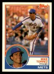1983 Topps Traded #115 T Mike Torrez  Front Thumbnail