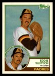 1983 Topps Traded #127 T Ed Whitson  Front Thumbnail