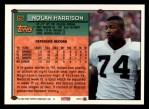 1994 Topps #62  Nolan Harrison  Back Thumbnail