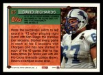 1994 Topps #63  David Richards  Back Thumbnail