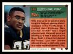 1994 Topps #140  Willie Roaf  Back Thumbnail
