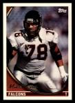 1994 Topps #166  Mike Kenn  Front Thumbnail