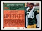 1994 Topps #173  George Koonce  Back Thumbnail