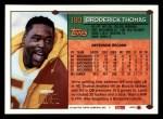 1994 Topps #180  Broderick Thomas  Back Thumbnail
