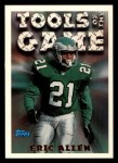 1994 Topps #197   -  Eric Allen Tools of the Game Front Thumbnail