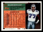 1994 Topps #222  Jim Jeffcoat  Back Thumbnail