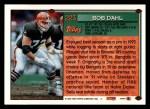 1994 Topps #223  Bob Dahl  Back Thumbnail