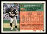 1994 Topps #224  Marion Butts  Back Thumbnail