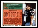 1994 Topps #250  Junior Seau  Back Thumbnail