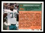 1994 Topps #258  Richmond Webb  Back Thumbnail