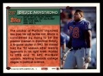 1994 Topps #297  Bruce Armstrong  Back Thumbnail