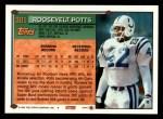 1994 Topps #301  Roosevelt Potts  Back Thumbnail
