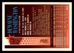 1994 Topps #309  Dewayne Washington  Back Thumbnail