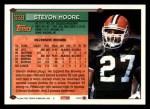 1994 Topps #339  Stevon Moore  Back Thumbnail