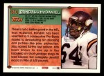 1994 Topps #350  Randall McDaniel  Back Thumbnail