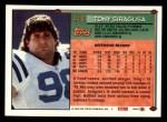 1994 Topps #416  Tony Siragusa  Back Thumbnail