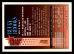 1994 Topps #489  Bucky Brooks  Back Thumbnail