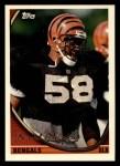 1994 Topps #502  David Braxton  Front Thumbnail