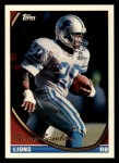 1994 Topps #570  Barry Sanders  Front Thumbnail