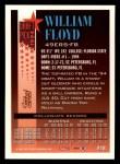 1994 Topps #618  William Floyd  Back Thumbnail