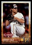2015 Topps Update #355  Gerrit Cole  Front Thumbnail