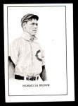 1950 Callahan Hall of Fame  Mordecai Brown  Front Thumbnail
