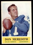 1964 Philadelphia #51  Don Meredith   Front Thumbnail
