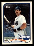1989 Topps Traded #112 T Rick Schu  Front Thumbnail