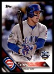 2016 Topps Update #281   -  Anthony Rizzo All-Star Front Thumbnail