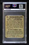 1948 Leaf #76  Ted Williams  Back Thumbnail