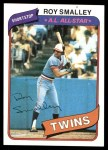 1980 Topps #570  Roy Smalley  Front Thumbnail