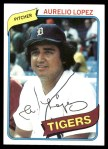 1980 Topps #101  Aurelio Lopez  Front Thumbnail