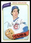1980 Topps #431  Mike Krukow  Front Thumbnail