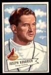 1952 Bowman Small #75  Joe Kuharich  Front Thumbnail
