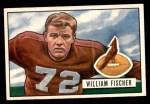 1951 Bowman #65  William Fischer  Front Thumbnail