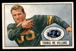 1951 Bowman #58  Tom McWilliams  Front Thumbnail