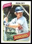 1980 Topps #510  Ron Cey  Front Thumbnail